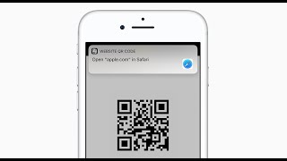 How To Scan QR Codes On iPhone