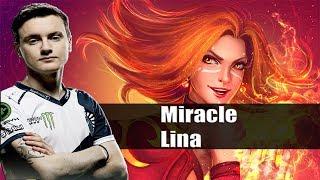 Dota 2 Stream: Liquid Miracle playing Lina