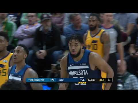 Highlights | Karl-Anthony Towns 29 Points, 13 Rebounds, 5 Assists vs. Jazz (11.18.19)