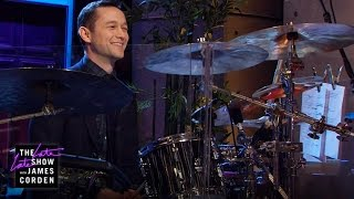 Joseph Gordon-Levitt Takes Over the Drums