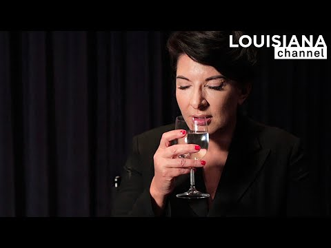 Marina Abramović: How to Drink a Glass of Water