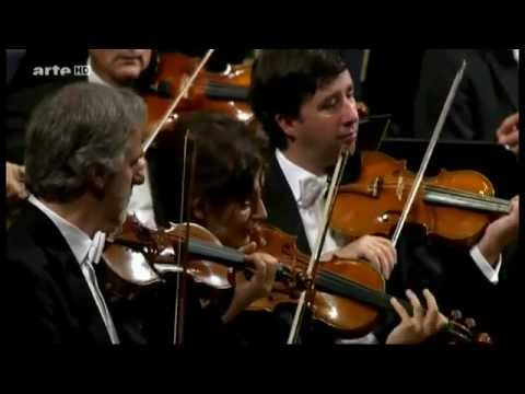 Gustavo Dudamel and Wiener Philharmoniker. Gioacchino Rossini. Overture to