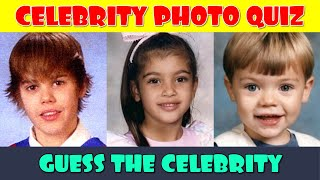 Can you Guess these 25 Celebrities from a Childhood Photo?
