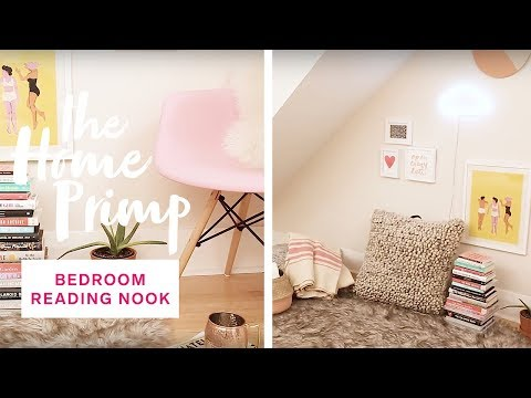How To Create A Cozy Bedroom Reading Nook — For Under $300 | The Home Primp Mp3