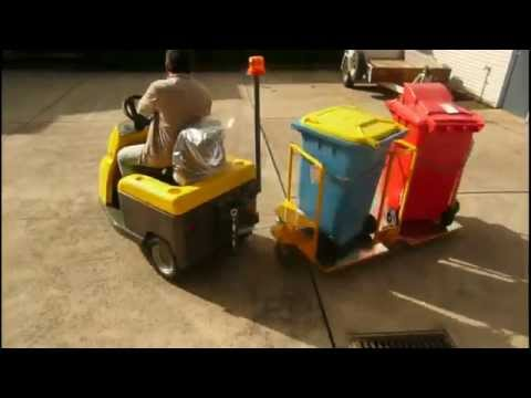 Spacepac DEC Bull 2 Towing Bin Tugger Train Trolley