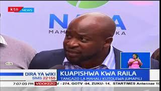 Ratiba ya vuguvugu ya NRM kuhusu kuapishwa kwa kinara wa NASA Raila Odinga