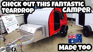 MUST WATCH Awesome Aussie made tear drop camper S3 Company profile