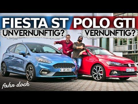 Ford Fiesta ST vs VW Polo GTI | Das Duell der heißen Zwerge | Fahr doch