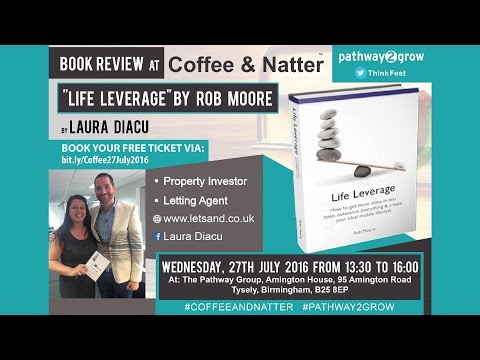 A Business Book Review by Laura Diacu reviewing Life Leverage