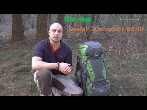 Knives & Gear: Review - Deuter Aircontact 65 + 10