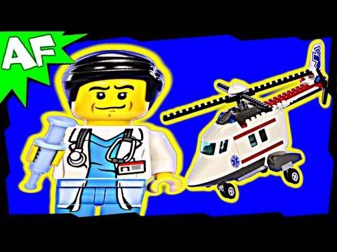 Vidéo LEGO City 4429 : L'hélicoptère de secours