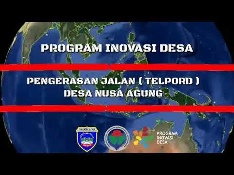 JALAN TELPORD INOVASI DESA NUSA AGUNG KECAMATAN  BELITANG III KABUPATEN OKU TIMUR PROVINSI SUMATERA