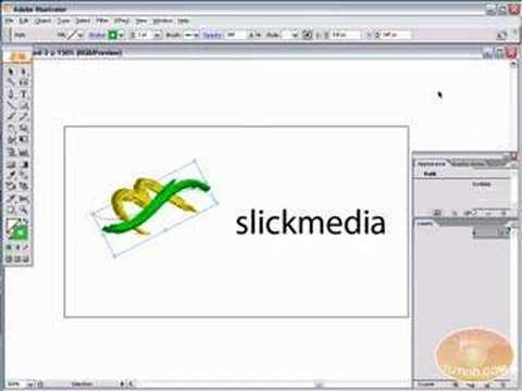 new! adobe illustrator tutorial make a 3d logo!