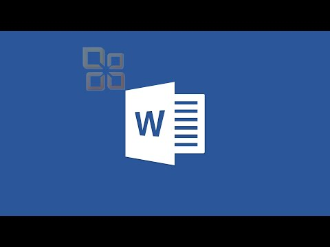 Getting Started with Word - Course Intro