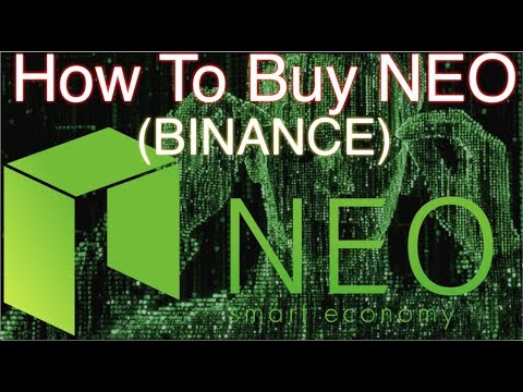How To BUY NEO with Binance
