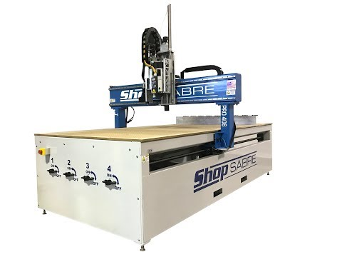 29. ShopSabre CNC PRO Series Walk Around with Routerbobvideo thumb
