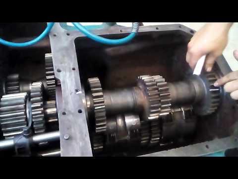Усиление с модернизацией коробки ХТЗ Т 150-к
