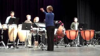 Evans Middle School - UIL Solo and Ensemble Contest for Percussion