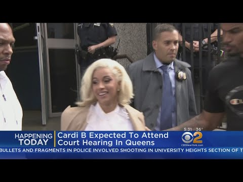 Cardi B Due Back In Court