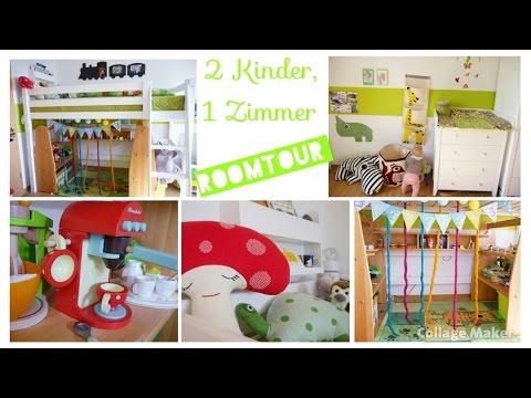 Kinderzimmer Roomtour | 2 Kinder | Spielzeug, Aufbewahrung, Accessoires