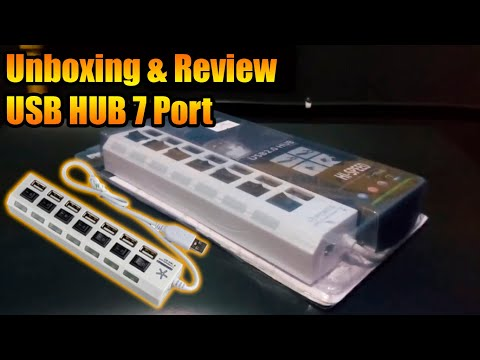Unboxing & Review USB HUB 7 Port – Bahasa Indonesia