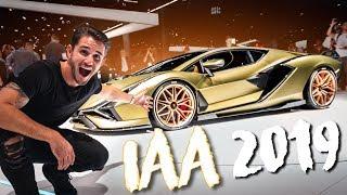819PS Lamborghini Sián!   IAA 2019   Daniel Abt