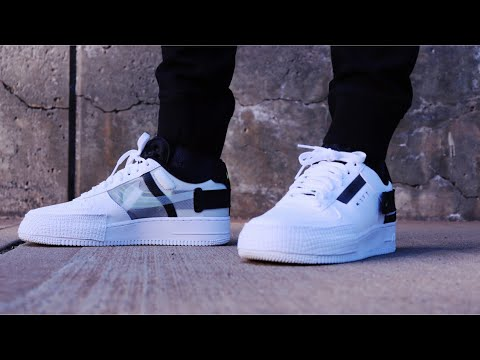 "NIKE AIR FORCE 1TYPE N.354 ""WHITE/VOLT"" REVIEW + ON FEET"