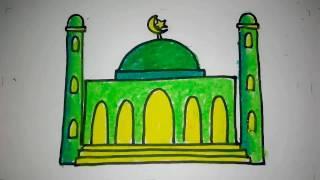 Menggambar Masjid ฟรวดโอออนไลน ดทวออนไลน คลปวดโอฟร