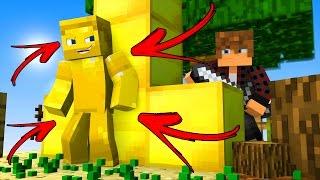 Minecraft - I AM GOLD TROLL (BEST I AM STONE CHALLENGE)