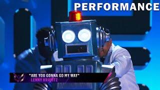 Robot sings \