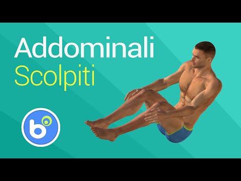 Esercizi a spina dorsale scoliosis in reparto di petto