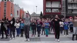 preview picture of video 'FlashMob az autistákért Zalaegerszegen - Zalaegerszeg, 2015.04.02.'