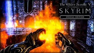 TESV: Skyrim Special Edition #66 - Потратил 10К на заклинания!
