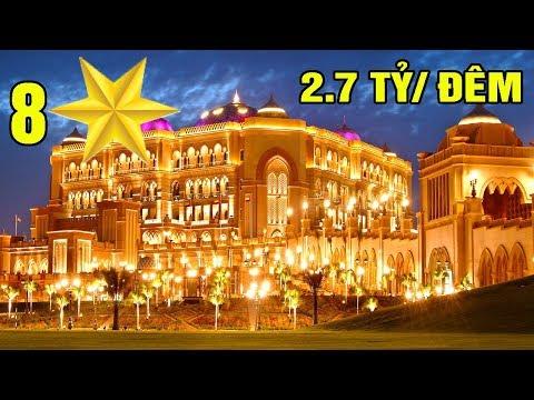 Khám Pha' Khách Sạn 8 Sao Duy Nhất Trên Thế Giới - Dát 22 Tấn Vàng - Gia' 2,7 Tỷ/Đêm