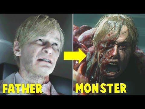 How Doctor Birkin Became G-Monster FULL STORY - Resident Evil 2 Remake 2019