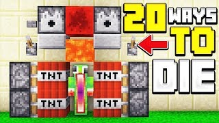 20 WAYS TO KILL UNSPEAKABLE IN MINECRAFT!