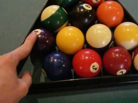Billar aprender a colocar las bolas ep-1