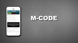 CNC Machinist Calculator – M-codes