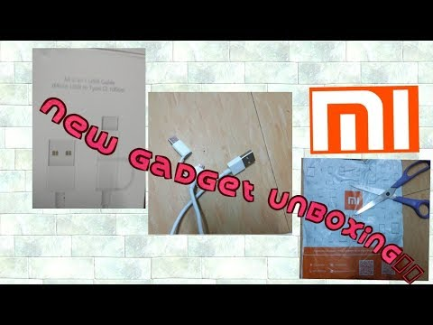 Mi Usb type C new gadgets review 2018