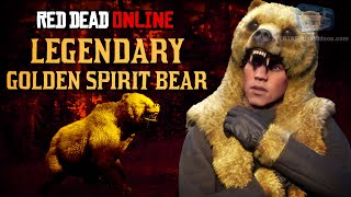 Red Dead Online - Legendary Golden Spirit Bear Mission [Animal Field Guide]