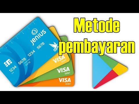 Cara Setting Metode Pembayaran PlayStore Menggunakan Kartu Debit Bank Lokal Part 2