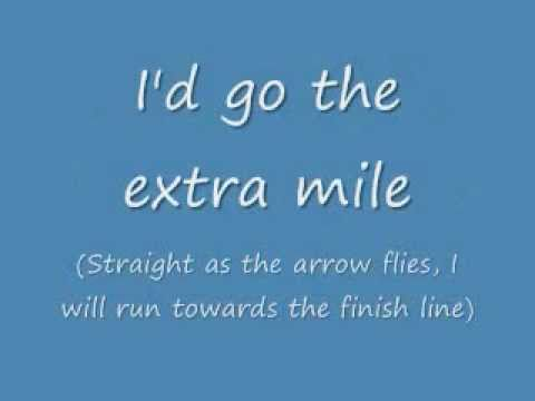 The Extra Mile by Laura Pausini - Lyrics