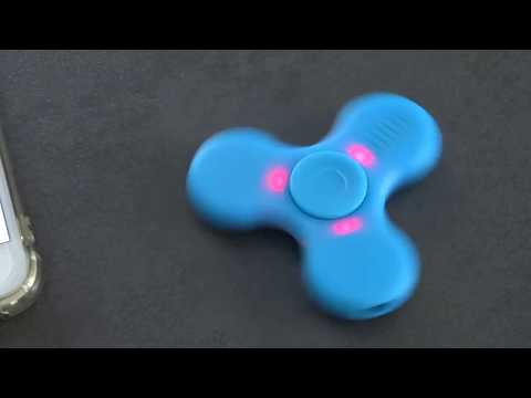 handspinner lumineux et sonore Bluetooth Banggood