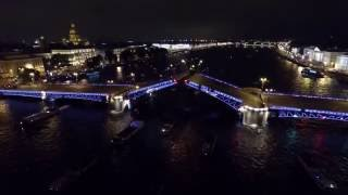 Звуковое шоу 'Поющие мосты' в Санкт Петербурге вместе с DALEX-VIP