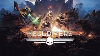 [18+] Шон играет в Helldivers (PS4 PRO, 2015)