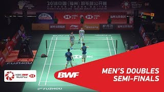 SF | MD | GIDEON/SUKAMULJO (INA) [1] vs LIU/ZHANG (CHN) [3] | BWF 2018