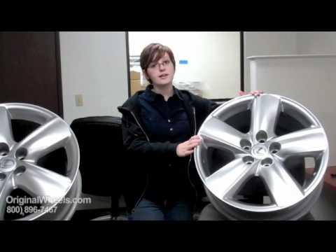 RX 350 Rims & RX 350 Wheels - Video of Lexus Factory, Original, OEM, stock new & used rim Co.