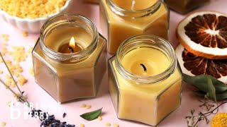 Anne-Marie & Flower Make Aromatherapy Beeswax Candles - Natural Candles At Home! | Bramble Berry