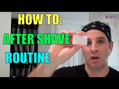 Best After Shave Routine