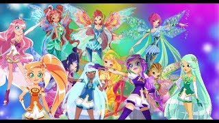 The Winx & The Lolirock Transform Together!